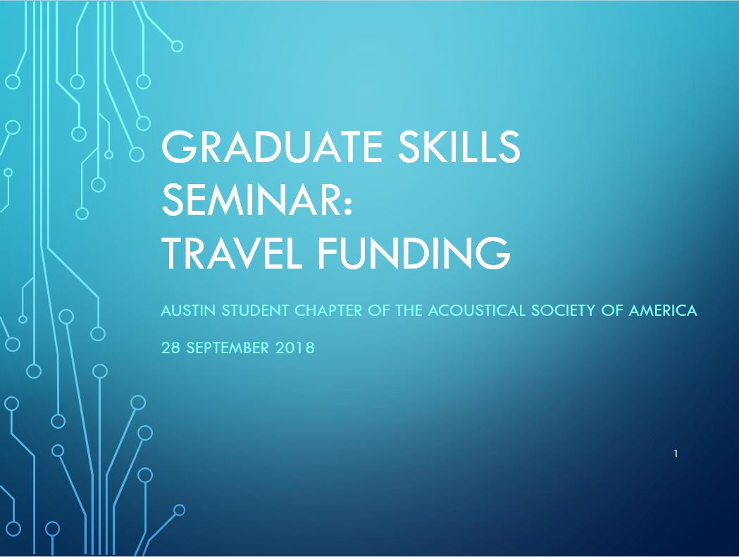 Travel Funding
